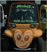 Brickell Monkey Shuttle