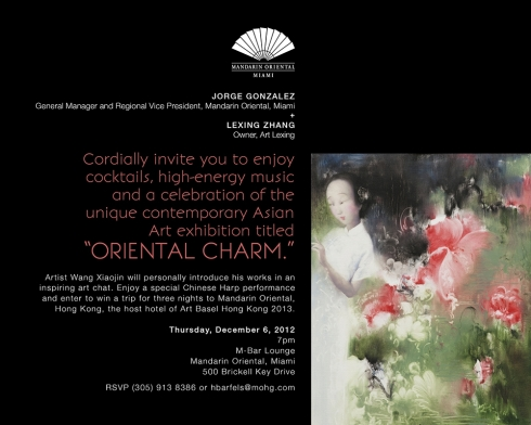 Mandarin Oriental Miami Art Basel Events