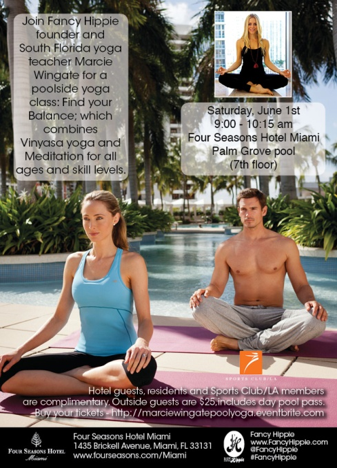 Four Seasons Poolside Yoga Marcie Wingate